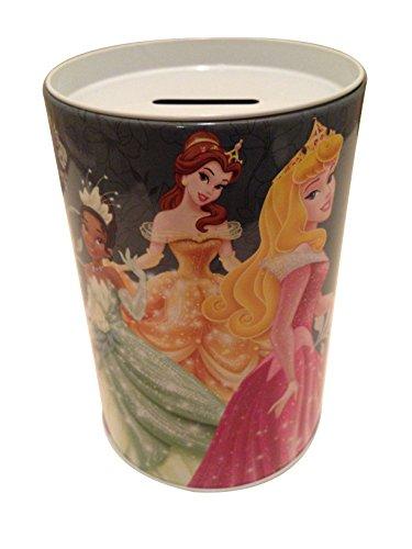 - Disney Princess Coin Bank. Tiana, Belle, Aurora.