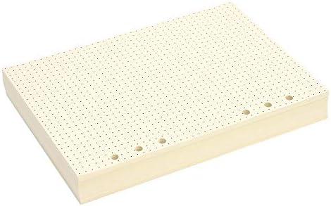 Paper Junkie Punkt-Füllpapier (6 Locher, 14 x 21,6 cm, A5, 300 Blatt)