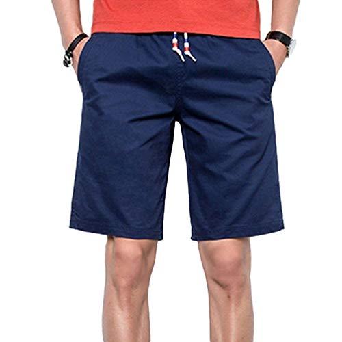 Bermuda Solido Da Abbigliamento Lavoro Festivo Il Casual Sportivi Libero Uomo Pantaloncini Colore Comodi Semplice Pantaloni Schwarz Spiaggia Per Tempo 45OPWqw