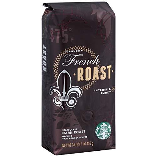 Starbucks French Roast Ground Coffee, French, 96 Oz