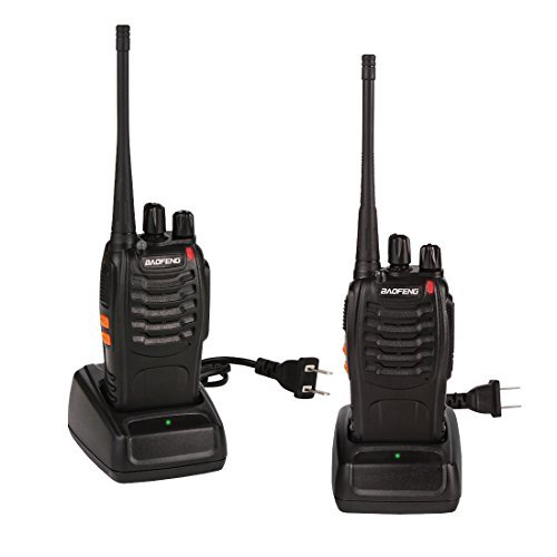Best Prices! BaoFeng walkie talkies BF-888S Long Range Two Way Radio with Headphone 16 Channeels for...