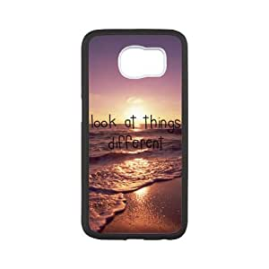 super shining day Best Look At Things Different Samsung Galaxy S6 Back Covers With TPU Material Material