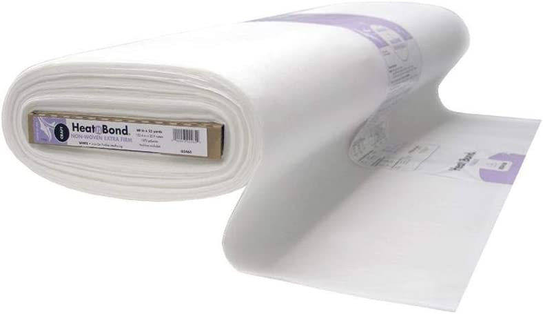 Bulk Buy 4-Pack Thermoweb Heat N Bond Medium Weight Iron On Fusible Interfacing White 20X36 3337