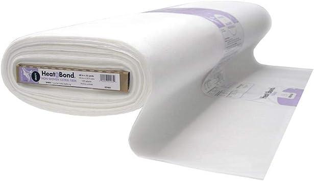 THERMOWEB HeatN Bond Craft Extra Firm Iron-On Fusible Interfacing-20X36,White