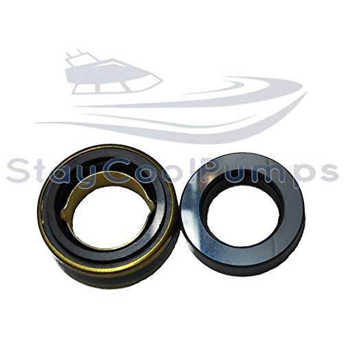 SCP Sea Water Pump Mechanical Shaft Seal Replaces Jabsco 96080-0080