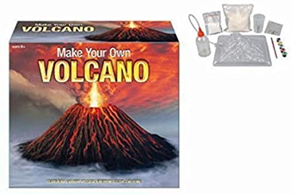 MAKE YOUR OWN VOLCANO: Amazon.co.uk: Toys & Games