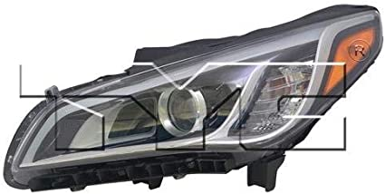 -Chrome Driver side WITH install kit 100W Halogen 6 inch 2007 GMC ACADIA Post mount spotlight