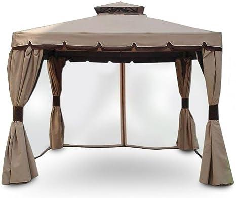 4 Telas laterales mosquitera para cenador Cipro de 3x4 m ...