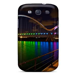 High Quality Shock Absorbing Case For Galaxy S3-beautiful Lights