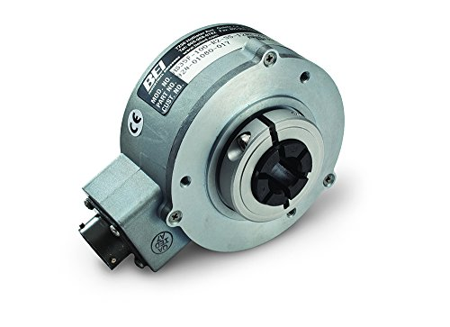 BEI Sensors 01080-072 HS35 Rotary Absolute Optical Encoder, HS35F-100-R2-SS-13GC-S3-CW-SM18, Heavy duty, hollow shaft, 3.5'' body diameter, 1'' shaft bore, 13 bit SSI output, tether arm kit, 3.5'' by BEI SENSORS