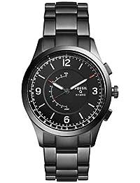 Hybrid Smartwatch - Q Activist Smoke Stainless Steel FTW1207