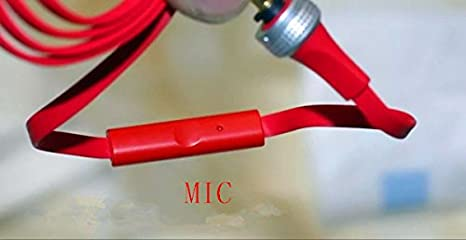 Replacement OFC Upgrade Audio Cable Cord for Sol Republic Master Tracks HD V8 V10 V12 X3 Headphone Red