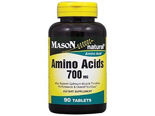 (Mason Natural Super Amino Acids 700mg Food Supplement Tablets - 90 Ea by Mason Vitamins )