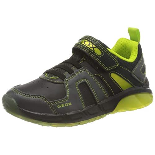 chollos oferta descuentos barato Geox J SPAZIALE Boy A Zapatillas Black Lime 30 EU