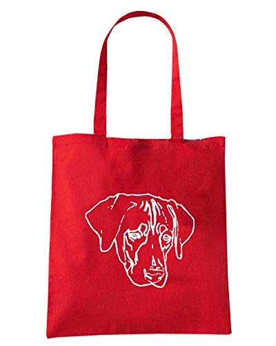 Shirt Speed Shopper DOG FUN1241 BREED Borsa Rossa Pqaqdx4Bw