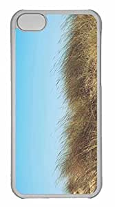 iPhone 5C Case, Personalized Custom Wind On Field for iPhone 5C PC Clear Case