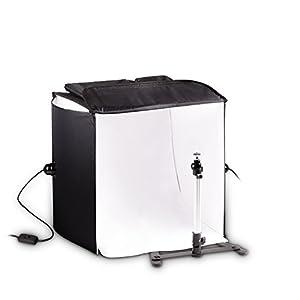 Mobile HAUSER & PICARD 200 Watt 40cm foto studio fotografico cubo luce con borsa e supporto per macchina fotografica… 17 spesavip