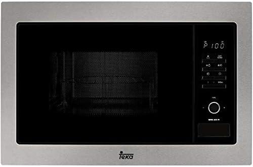 Teka MWE 255 FI Microondas con grill, 1450 W, Otro, Gris y negro