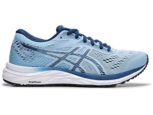 ASICS Women's Gel-Excite 6 (D) Running Shoes, 5W, Heritage Blue/MAKO Blue