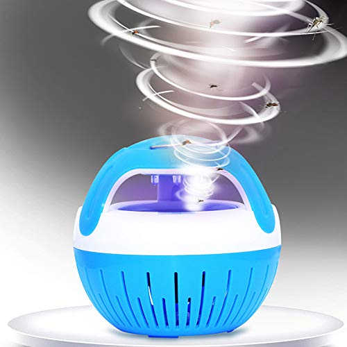 Vortex Insect Trap - Electric Fly Bug Zapper Indoor Mute USB Charging Insect Mosquito Killer Repeller Trap LED Night Lamp Lights- Portable Inhalation Mosquito - Killing Lamp