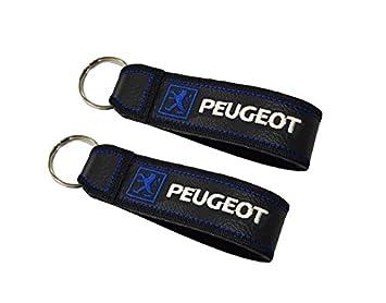 Moto Discovery Peugeot cordón Llavero Doble Cara (1 Pieza ...