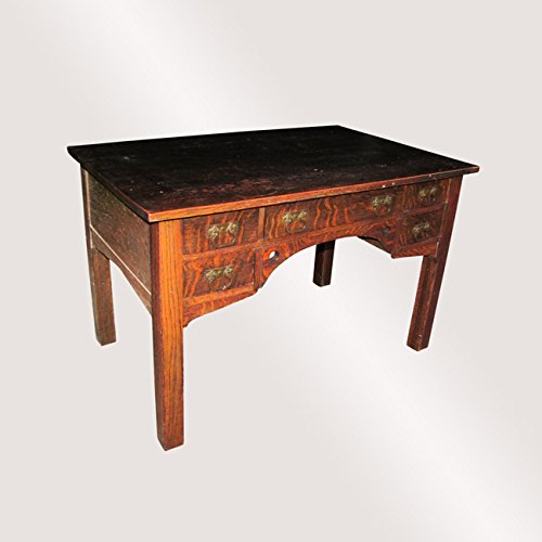 (Antique Bailey Library Table (in Stickley Brothers Style))