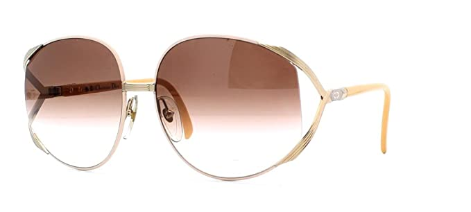 b801c691441fe Image Unavailable. Image not available for. Color  Christian Dior 2250 42  Pink and Gold Authentic Women Vintage Sunglasses
