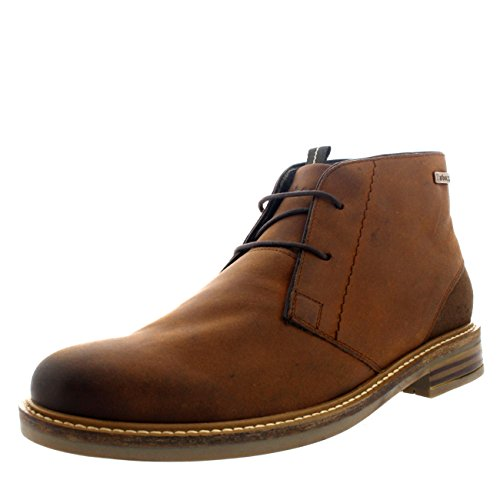 Barbour Mens Redhead Office Shoes Chukka Leather Smart Ankle Boots - Tan - 12.5 from Barbour