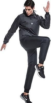 Cody Lundin Pérdida de Peso Sudadera con Capucha Chaqueta Quemador ...