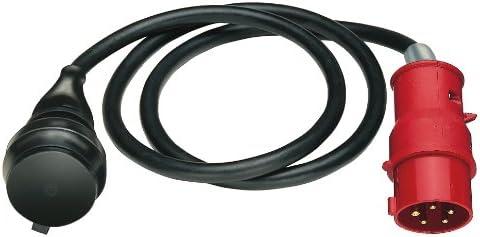 Brennenstuhl 1132960 Adaptador de Cable Negro 400 V