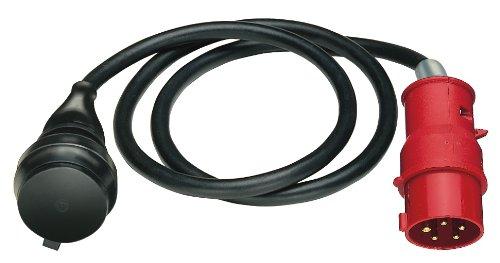 Brennenstuhl Adapterleitung IP44 1,5m Schwarz, 1132960