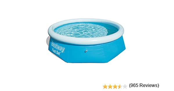 Bestway Fast Set Piscina Desmontable Autoportante, 244x66 cm ...