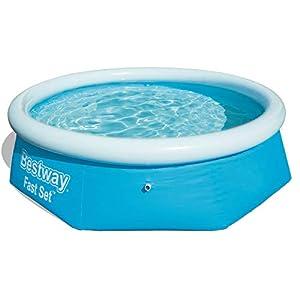 Bestway Fast Set Pool 244x66 cm, ohne Pumpe Piscina, Multicolore, 57265 11 spesavip
