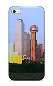 Anti-scratch And Shatterproof Dallas City Phone Case For Iphone 5c/ High Quality Tpu Case