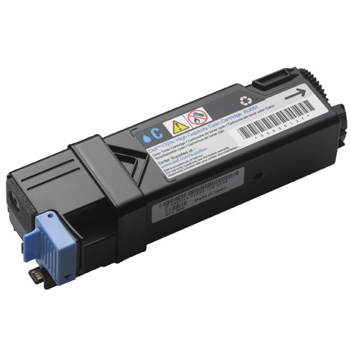 Dell KU051 Cyan Toner Cartridge 1320c Color Laser Printer