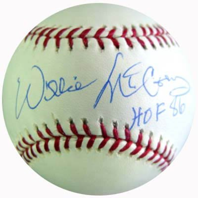 Willie McCovey Signed PSA/DNA Inscribed Baseball-Official (Baseball Willie Signed Mccovey)