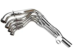 Motorcycle Spare Parts CNC Stainless Steel DIY Install Exhaust Downpipes Headers Pipe Fit For 2008 2009 2010 2011 HONDA CBR 1000RR