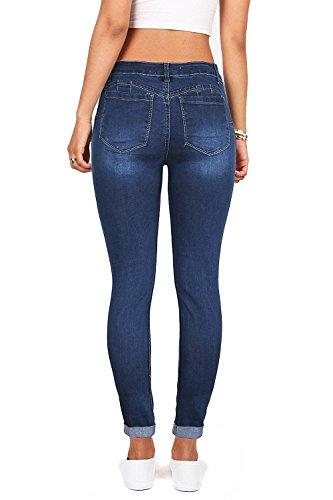 Fueri Jeans Bleu Femme Fonc Femme Jeans Bleu Fueri Fonc qwqRxFa