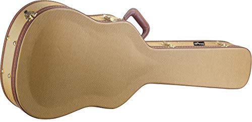 Stagg GCX-WGD Gold Tweed Deluxe Western/Dreadnought Guitar Case