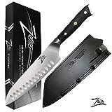ZELITE INFINITY Santoku Knife 7 inch | Alpha-Royal German Series |...