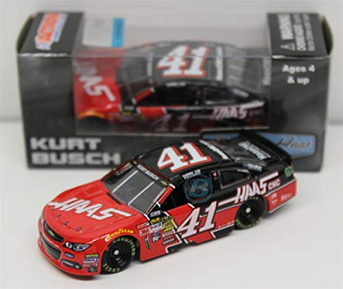 Lionel Racing C415865HSUB Kurt Busch # 41 Haas Automation 2015 Chevy SS 1:64 Scale ARC HT Official NASCAR Diecast Car by Lionel Racing