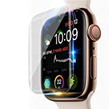ZTY66 for Apple Watch Series 4 44mm Screen Protector, 6Pack Explosion-Proof TPU Screen Protector Film for Apple Watch Series 4