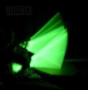 Amazon.com: Hiptrix Green Glow in the Dark Drumsticks 5A ...