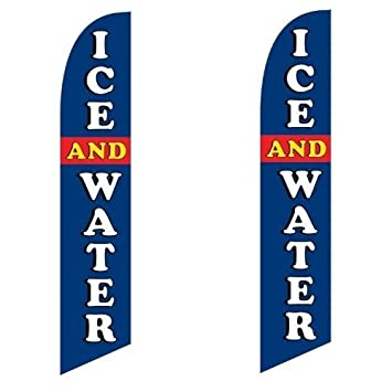 Water Store King Size Polyester Swooper Flag Pk of 2