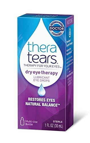 TheraTears Dry Eye Therapy-Lubricant Eye Drops MegaPACK 2Pack (1FL OZ 30mL)-izuOx-Thera