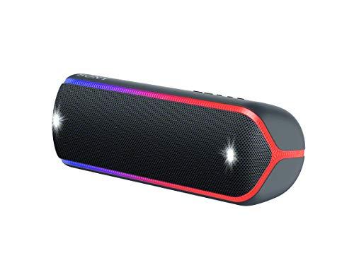 Sony SRS-XB32B – Altavoz inalámbrico portátil (Bluetooth, Extra Bass, diseño portátil, batería hasta 12h, Sonido Live…