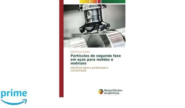 Partículas de segunda fase em aços para moldes e matrizes: Influência sobre a polibilidade e usinabilidade (Portuguese Edition): André Marcon Zanatta: ...