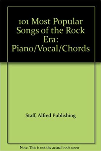 101 Most Popular Songs Of The Rock Era Pianovocalchords Alfred