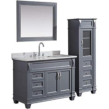 """Design Element Hudson 48"""" Solid Wood Single Sink Bathroom ..."""