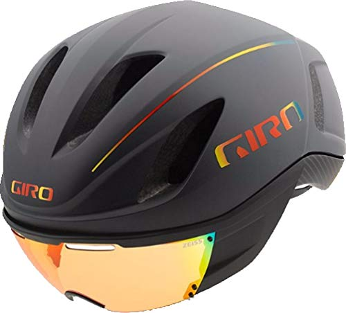 Giro Vanquish MIPS Helmet Matte Grey Firechrome, L